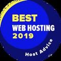 Przyznawana firmom z pierwszej 10-tki najlepszych w kategorii najlepszy hosting WWW.
