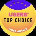 Przyznawana firmom z pierwszej 10-tki najlepszych w kategorii najwyższa ocena użytkowników.